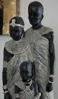 Unique Made In One Piece - African Sculpture
