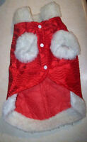 Pet Dog & Cat Coats & Sweaters Sizes Small & Large