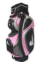 Sac de golf rose