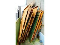 Free Wood - 2 Dismantled Garden Sheds to Collect