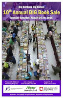 Big Brothers Big Sisters 10th Annual BIG Book Sale