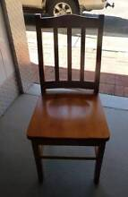 Solid timber set of dining room chairs Kurrajong Heights Hawkesbury Area Preview