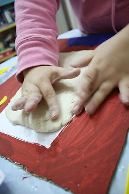 Salt Dough can be made into lovely keepsakes