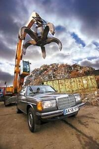 WANTED: SCRAP CARS for CASH