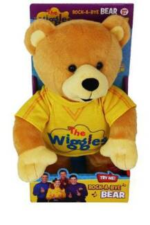 WIGGLES ROCK A BYE YOUR BEAR