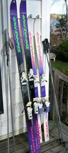 MANY QUALITY DOWNHILL SKI'S & BOOTS FOR $50.00 EACH