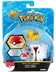 Pokemon Figure - Pikachu + PokeBall (Throw 'n' Pop) (Merc...