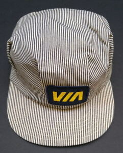 dc6abe13f3666 New collectible vintage VIA Rail train engineer s   baseball cap