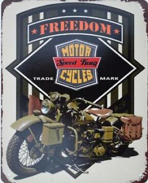 Freedom - Motor Cycles Speed King