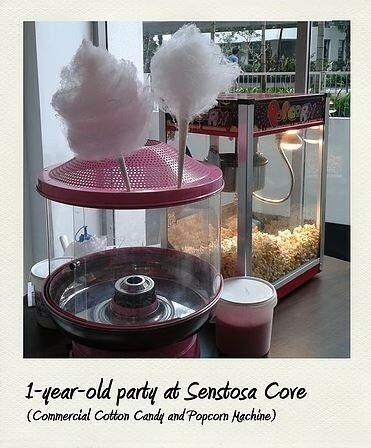 Low Cost Popcorn and Cotton Candy Floss Machine Rental in Singapore!