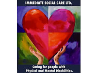 Carer with experience? Get work with Immediate Social Care in inner London and surounding areas.