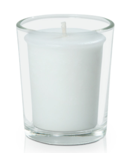 Event/ Wedding clear votives & candles x 48 Chermside Brisbane North East Preview