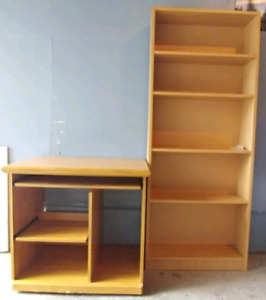 Bookshelf & Computer table with Chair