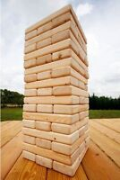 Giant Jenga Drinkin Game w/ Special Rules Blocks