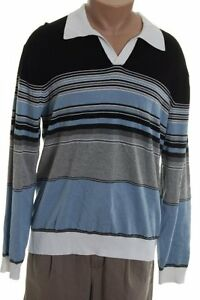 PERRY ELLIS Striped Sweater - XL - NEW