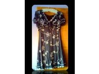 'PHASE EIGHT' - LADIES DRESS & MATCHING BOLERO - SIZE 18 - FOR SALE