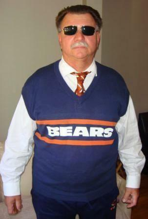 Chicago Bears Sweater Vest Ebay