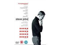 Steve jobs dvd (Michael fassbender) NEW sealed