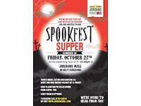 Spookfest Supper at Jordans Mill