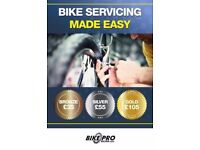 Winter service for your road, hybrid or mountain bike