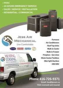 JESS AIR    Heating & Air-Conditioning