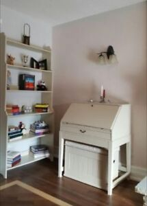 Desk, bench seat, and bookcase - Alve by Ikea