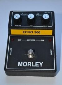 Morley Echo 300 Analog-Echo Reverb Effects Pedal