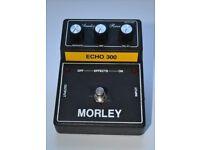Morley Echo 300 Analog-Echo Reverb Effects Pedal