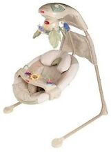 Fisher Price Nature's Touch Baby Cradle Swing/ Rocker. Golden Beach Caloundra Area Preview