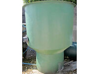 4 Foot Dia. Heavy Duty Primary vortex for filtering waste from the bottom drain of fish/koi pond