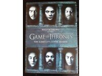 Game of Thrones Series 6 box set of DVDs. Perfect condition, only played once.
