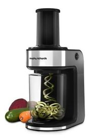 Electric Spiralizer - 2 blades Spaghetti and Ribbons (Morphy Richards)