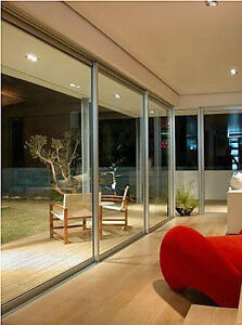 """1 OVERSIZE DOUBLE-PANE """"THERMAL"""" GLASS SAFETY PANEL 74""""H x 36""""W"""