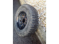 Off road tyre and wheel 215R15 CAN DELIVER