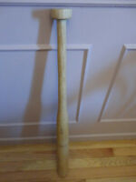 "35"" Oak Baseball Bat"