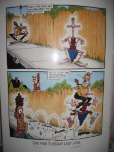 PRINT BY DON MARTIN - SIGNED #429/500 LIMITED