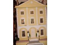 Queen Anne style doll house (1/12th scale). New Price