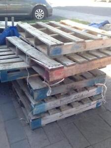 Wood Pallets (5 Available)