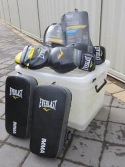 Boxing Gloves, Pads and Punch Mitts
