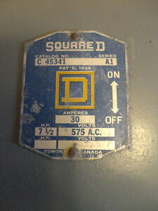 Square D Electrical Switch Panel London Ontario image 2