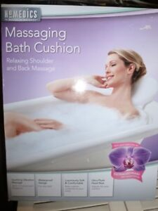 Homedics Bath Spa Cushion -- New in Box