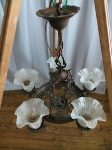 Vintage Iron Chandelier London Ontario image 2