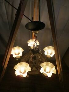 Vintage Iron Chandelier London Ontario image 7