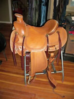 Roping Saddle - Brand New - Selling as Used - American Saddlery