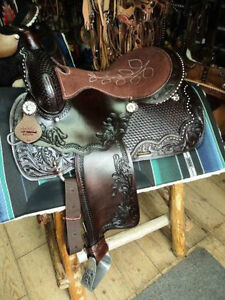 selle western,attelage équipement