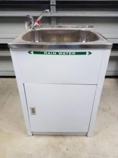 Laundry Tub with Cabinet   Negotiable   Urgent Sale