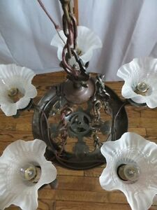 Vintage Iron Chandelier London Ontario image 4
