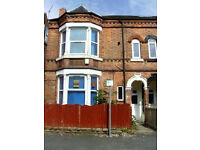 PROFESSIONALS / WORKING GROUP 4 BED HOUSE 10 MINS WALK FROM UNI, CITY, QMC. FURNISHED. REF12