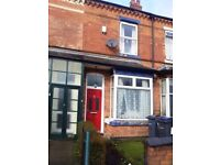 2 Bed House to rent £595.00pcm in Erdington U/F with some white goods. Front & rear Gardens