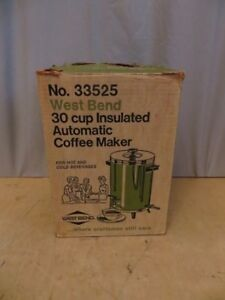 West Bend Insulated Autamatic Coffee Maker London Ontario image 1
